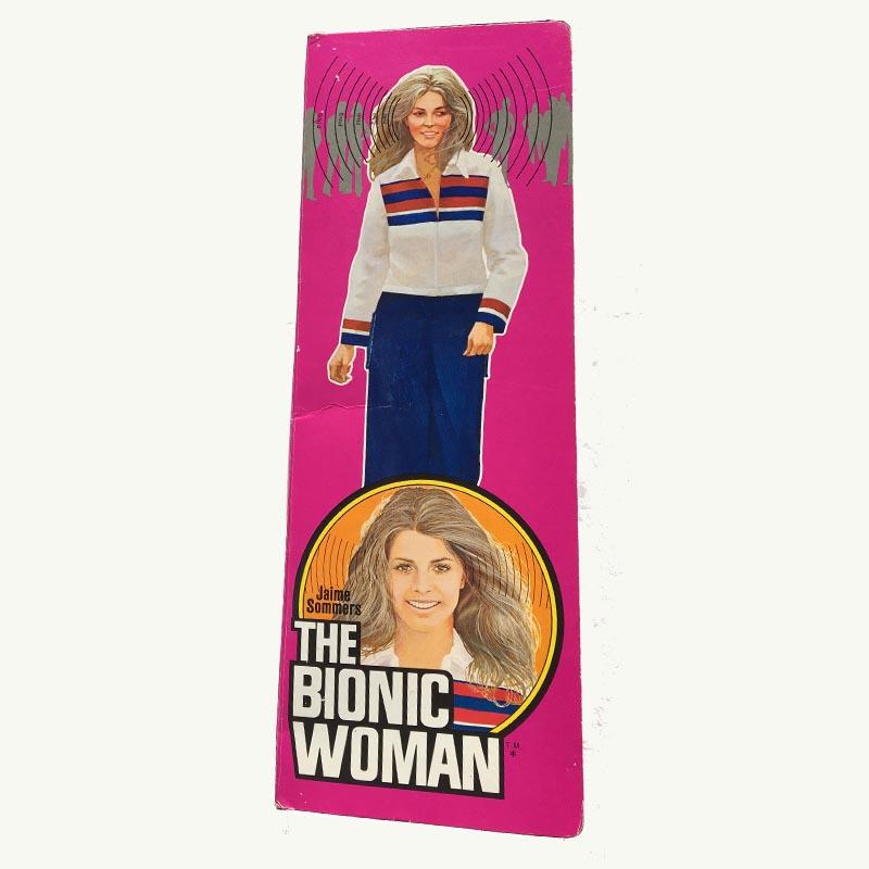 Bionic Woman doll box