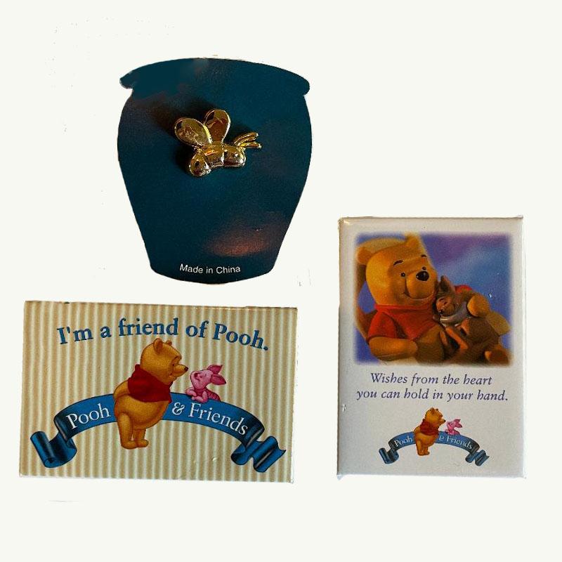 pooh pin set