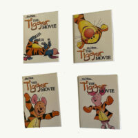 The Tigger Movie Pins