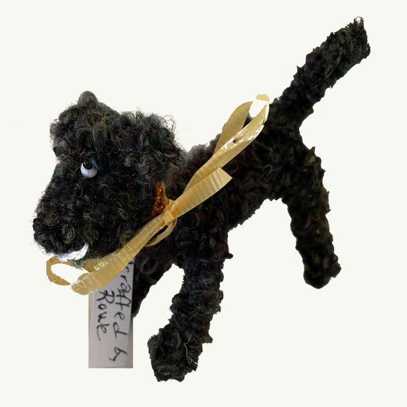 Lala Black Wool Dog