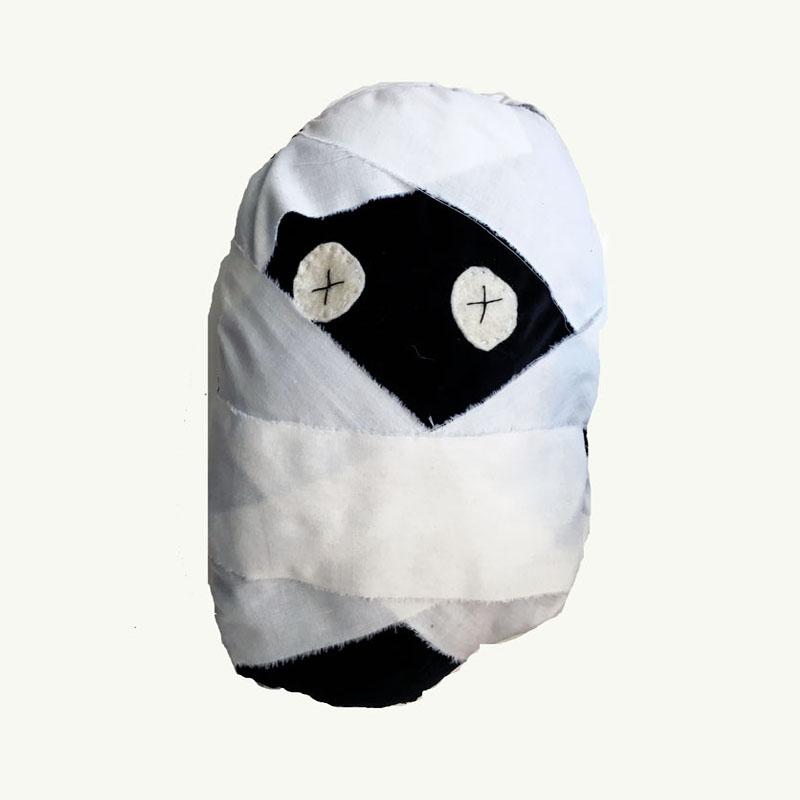Mummy Monster Pillow by Sis