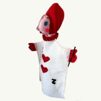 handpuppet Alice Wonderland card