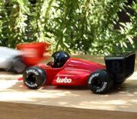 Red Turbo racer
