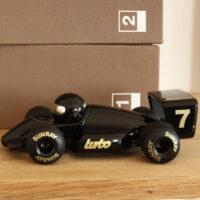 Turbo Jet Black Racer